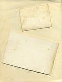 τρύγος σύστασης ακρών καρτών ανασκόπησης Στοκ φωτογραφία με δικαίωμα ελεύθερης χρήσης