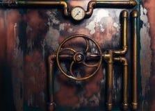 Τρύγος υποβάθρου steampunk στοκ εικόνα με δικαίωμα ελεύθερης χρήσης