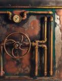 Τρύγος υποβάθρου steampunk στοκ εικόνες