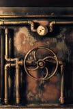 Τρύγος υποβάθρου steampunk στοκ εικόνα