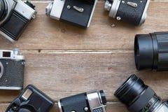 τρύγος φωτογραφικών μηχανών 35mm slr Στοκ Εικόνες