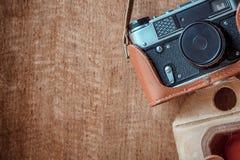 τρύγος φωτογραφικών μηχανών 35mm slr Στοκ Εικόνα