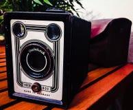 τρύγος φωτογραφικών μηχανών 35mm slr Στοκ εικόνες με δικαίωμα ελεύθερης χρήσης