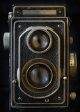 τρύγος φωτογραφικών μηχανών 35mm slr Στοκ Φωτογραφίες