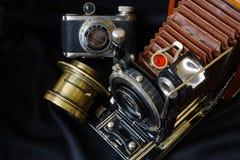 τρύγος φωτογραφικών μηχανών 35mm slr Στοκ εικόνα με δικαίωμα ελεύθερης χρήσης