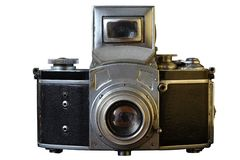 τρύγος φωτογραφικών μηχανών 35mm slr Στοκ Φωτογραφία