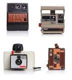 τρύγος φωτογραφικών μηχαν Στοκ εικόνα με δικαίωμα ελεύθερης χρήσης