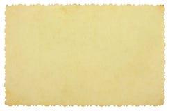 τρύγος φωτογραφιών καρτών Στοκ Εικόνες