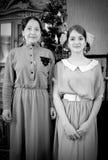 τρύγος φωτογραφιών μητέρων  Στοκ Φωτογραφίες