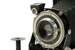 τρύγος φωτογραφιών φωτογραφικών μηχανών στοκ εικόνες με δικαίωμα ελεύθερης χρήσης