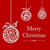 τρύγος Χριστουγέννων καρ& Στοκ εικόνες με δικαίωμα ελεύθερης χρήσης