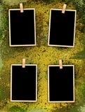 τρύγος ύφους φωτογραφιών Στοκ Εικόνες