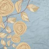 τρύγος 8 eps ανασκοπήσεων floral τ&r Στοκ φωτογραφίες με δικαίωμα ελεύθερης χρήσης