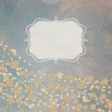 τρύγος 8 eps ανασκοπήσεων floral τ&r Στοκ Εικόνα