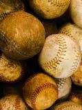 Τρύγος baseballs στοκ φωτογραφία με δικαίωμα ελεύθερης χρήσης