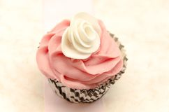 Τρύγος cupcake Στοκ φωτογραφία με δικαίωμα ελεύθερης χρήσης