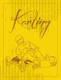 Τρύγος Karting Στοκ εικόνα με δικαίωμα ελεύθερης χρήσης