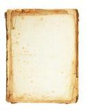 τρύγος pergament Στοκ εικόνα με δικαίωμα ελεύθερης χρήσης