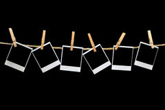 τρύγος polaroid πλαισίων Στοκ φωτογραφία με δικαίωμα ελεύθερης χρήσης