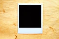 τρύγος polaroid στοκ εικόνα με δικαίωμα ελεύθερης χρήσης