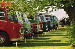 τρύγος truck ανταγωνισμού Στοκ Φωτογραφία