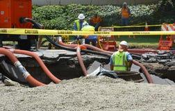 Τρύπα αποχέτευσης του Λος Άντζελες Στοκ φωτογραφία με δικαίωμα ελεύθερης χρήσης