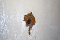 Τρύπα από σφαίρα Στοκ Εικόνες