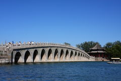 17-τρύπα γέφυρα Στοκ Εικόνες