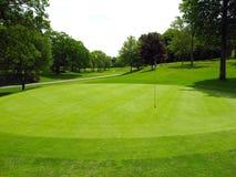 τρύπα γκολφ Στοκ εικόνες με δικαίωμα ελεύθερης χρήσης