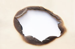 τρύπα εγκαυμάτων στοκ φωτογραφίες