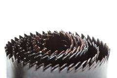 Τρύπα που κατασκευάζει τα εργαλεία Στοκ Εικόνες