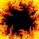 Τρύπα πυρκαγιάς Στοκ Εικόνες