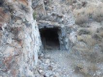 Τρύπα στο βράχο Στοκ Εικόνα