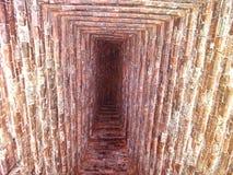 Τρύπα στο ναό στοκ εικόνες με δικαίωμα ελεύθερης χρήσης