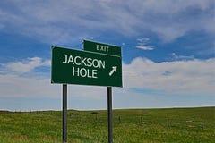 τρύπα Τζάκσον Στοκ Εικόνες