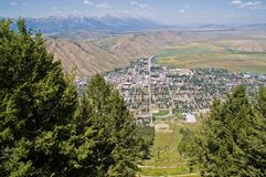 τρύπα Τζάκσον Wyoming Στοκ εικόνες με δικαίωμα ελεύθερης χρήσης