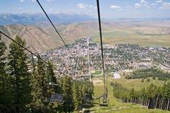 τρύπα Τζάκσον Wyoming Στοκ Εικόνα