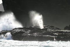 τρύπα χτυπήματος Στοκ Φωτογραφία