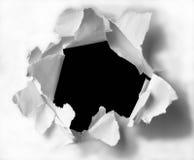 τρύπα Στοκ φωτογραφία με δικαίωμα ελεύθερης χρήσης