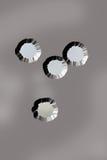 τρύπες από σφαίρα Στοκ Φωτογραφία