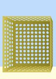 τρύπες κιβωτίων διανυσματική απεικόνιση