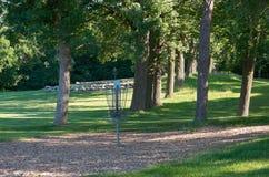 Τρύπες Πολωνού γηπέδων του γκολφ πάρκων και δίσκων Kaposia Στοκ φωτογραφία με δικαίωμα ελεύθερης χρήσης
