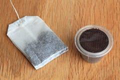 Τσάι ή καφές; Στοκ φωτογραφία με δικαίωμα ελεύθερης χρήσης