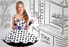 Τσάι ή καφές στοκ φωτογραφίες