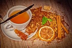 τσάι ανασκόπησης Στοκ φωτογραφία με δικαίωμα ελεύθερης χρήσης