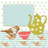 τσάι ανασκόπησης Στοκ εικόνα με δικαίωμα ελεύθερης χρήσης