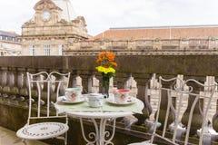 Τσάι απογεύματος Realxing Στοκ φωτογραφία με δικαίωμα ελεύθερης χρήσης