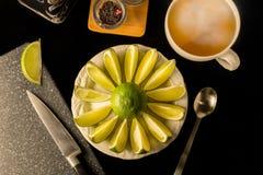 Τσάι ασβέστη Στοκ Φωτογραφίες