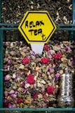 Τσάι για την πώληση στο μεγάλο Bazaar στη Ιστανμπούλ Στοκ εικόνες με δικαίωμα ελεύθερης χρήσης