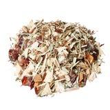 Τσάι γιόγκας που απομονώνεται στο λευκό Στοκ Εικόνες